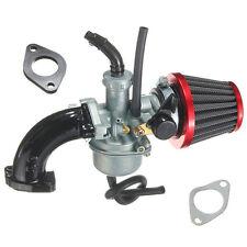 For Pit Dirt Bike 110cc 125cc PZ22 22mm Carb Carburetor Intake Pipe Air Filter
