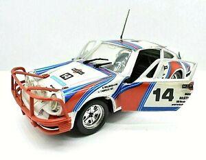 Miniature voiture Porsche Carrera 911 Martini S710 Polistil auto 1:25 1/24