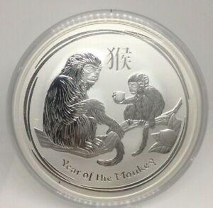 2016 Lunar Australian Monkey 10 oz Silver Coin, Series II, Perth Mint Australia