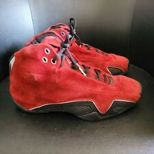 Air Jordan 21 Red Suede Mens Size 10.5 Basketball Shoes