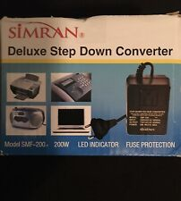 Simran 200 Watt Deluxe Step Down Voltage Converter SMF200