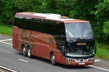 Bus Photo 12x8 - MAN Beulas - Scotline tours - BU16 LAS