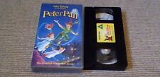 Peter Pan WALT DISNEY CLASSIC UK PAL VHS VIDEO 1995 J.M. Barrrie