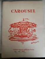 Carousel, COLCHESTER Operatic & Dramatic Society Theatre programme 1967 Ephemera