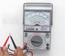 MF-47 Analog Multimeter Voltmeter Ammeter Ohmmeter Battery Tester