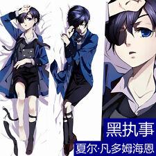 Anime Black Butler Ciel Phantomhive Cover Pillow Case Hugging Body Dakimakura #