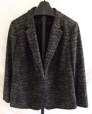 NWT Vince Camuto Speckled Rich Black Jacquard Knit Blazer Jacket Plus Size 22W