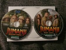 Jumanji 1 et 2 (welcome to the jungle + next level) blu ray 2D avec VF