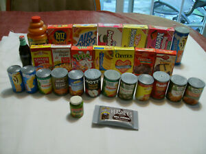 PLAY FOOD LOT ALL CONTAINERS 29 PIECES NAME BRANDS