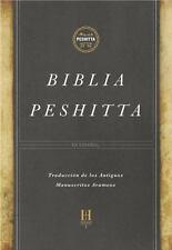 Biblia Peshitta, Tapa Dura Con índice : Revisada y Aumentada (2017, Hardcover)