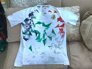 Canterbury British Lions 2021 Rugby White T-shirt Size 2XL In Great Condition