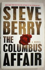 THE COLUMBUS AFFAIR Steve Berry stated 1st Ed 2012 Mystery Hardcover & Jacket