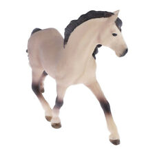 Simulation Plastic Andalusian Horse Toy Figure Model for Kid Early Education
