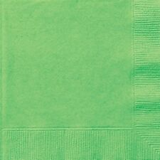LIME GREEN TABLEWARE -  Plates/Cups/Napkins/Tablecovers/Bags/Balloons