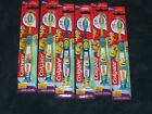 Lot 6 Colgate Kids Minions Extra Soft Suction Cup Base Toothbrushes