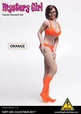 Flirty Girl 1/6 Scale FGC2017-13 Mystery Girl Orange Female Character Set