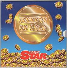 More details for 1995 daily star jackpot of gold royal mint £1 coin pack | rare | pennies2pounds
