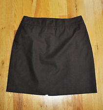 """EUC! The Limited STRETCH brown lined skirt (10) fits small - 29"""" waist"""