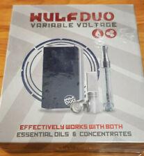 Wulf Duo 2 in 1 Cartridge Vaporizer by Wulf Mods Schwarz