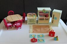 Fisher Price Loving Family Doll House Fun Holiday Christmas sounds Kitchen set