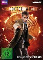 DOCTOR WHO - DIE KOMPLETTEN SPECIALS (5 DVDS) 5 DVD NEU
