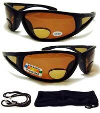 2.00 Polarized BIFOCAL SunGlasses Mens/Womens Sport Fishing Glasses Reading 200