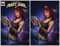AMAZING MARY JANE #1 SHANNON MAER VIRGIN & TRADE SET - 2019 - NM- or Better