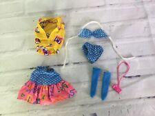 VTG 80s Mattel California Dream Barbie Doll Clothing Fashion Full Outfit Set