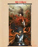 Scroll Wall Cosplay Anime Hellsing Picture Otaku Decor Poster Home 60*110CM #X10