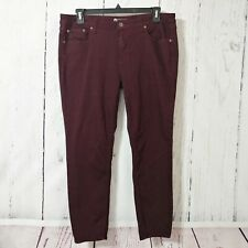 Stylus Stretch Skinny Ankle Colored Jeans 33/16