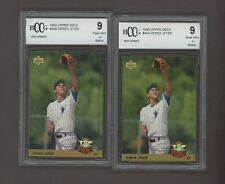 LOT (2) 1993 Upper Deck #449 Derek Jeter New York Yankees BCCG 9 #2