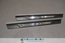 BMW M3 E46 COUPE CONVERTIBLE PAIR OF SILL KICK TRIMS OEM 2000-2006 # 8204114