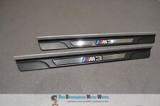 BMW M3 E46 Coupe Cabrio Par De Umbral Patada Adornos OEM 2000-2006 # 8204114