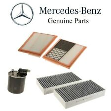 For Mercedes W164 ML350 W251 X204 GL350 Fuel Air & Cabin Air Filters Kit Genuine