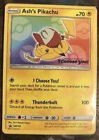 "Ash's Pikachu ""I Choose You"" Pokemon Movie Promo Card SM108 NM/Mint"