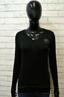Maglia LA MARTINA Polo Manica Lunga Shirt Jersey Frau  Elastica Donna XS Nera