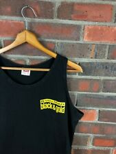 New listing vintage Benson and hedges black and gold cigarettes tank top t shirt mens l/xl
