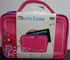 "Kurio Case Pink NWT Two Compartments For 7"" Device & Accessories"