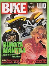 BIKE - February 1996 - Kawasaki VN800 - Harley Davidson XL1200C Sportster Custom