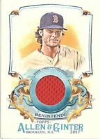 2017 Topps Allen and Ginter Relic Singles (Pick Your Cards)