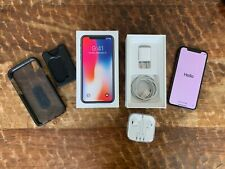 Unlocked Apple iPhone X Space Gray 64G A1901