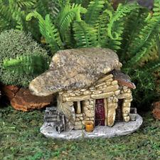 Fairy Garden Mini - Micro Mini Rock Red Door Troll House