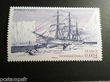 FRANCE  2007, timbre 4111, BATEAU, VOILIER, CHARCOT, neuf**, SHIP, MNH STAMP