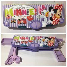 Minnie Mouse Violet avec 5 fenêtres Pop-Up Caricature Anniversaire Noël Boîte Cadeau