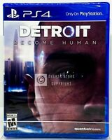 Detroit Become Human - PS4 - Brand New | Factory Sealed