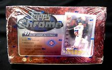 Topps Chrome 1997 MLB Baseball Trading Card Box New Factory Sealed