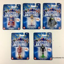 5 MATTEL Justice league unlimited Super Hero Metal Collection NEW FREE SHIPPING.