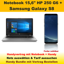 "Handyvertrag mit Handy Samsung Galaxy S8 + Notebook 15,6"" HP 250 G6 Handy Bundle"