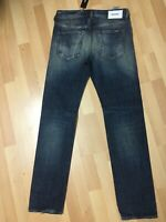 NWT Mens MADE ITALY Diesel BUSTER U/Smooth Denim 084WN Dark Blue Slim W29 L32 H6