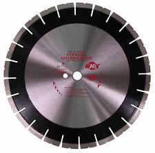 "20"" Premium Diamond Saw Blade Cutting Asphalt, Green Concrete,1""-20mm Arbor"